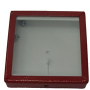 Skříňka na klíče malá, červená