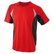 Tričko pánské funkční /dres/ pro požární sport JN391 červený
